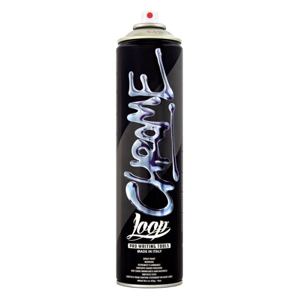 Loopcolors Cans Chrome 600ml - silber