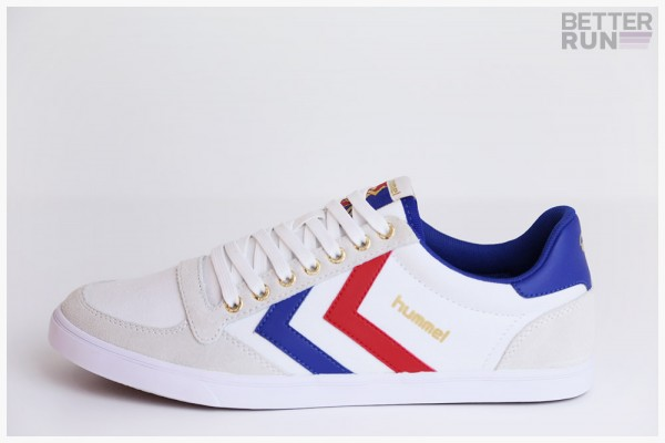 Hummel Sneaker - WN Slimmer Stadil Low - White - Blue - Red