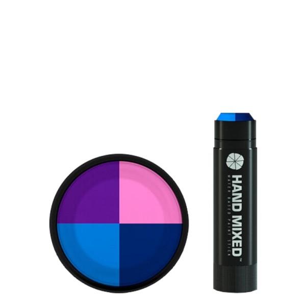Hand Mixed Marker COSMOS Lite - Hellblau Lila Pink Dunkelblau