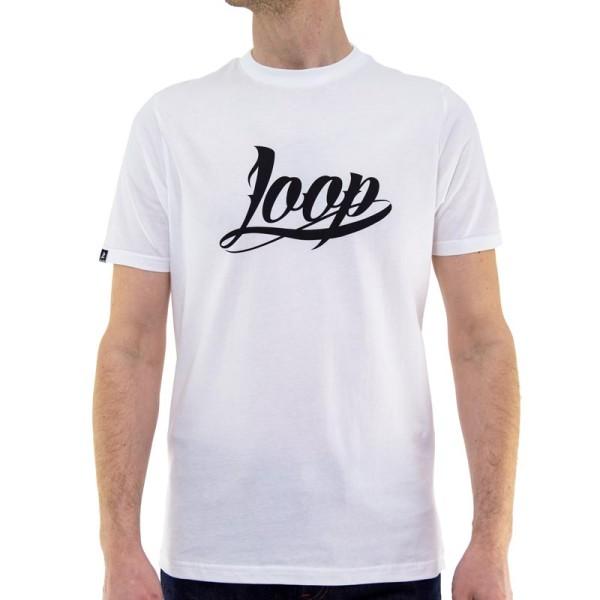 Loopcolors x Wrung - OG LOGO T-Shirt - Weiß