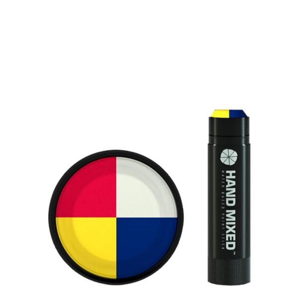 Hand Mixed Marker MONDRIAN Lite - Gelb Rot Weiss Blau