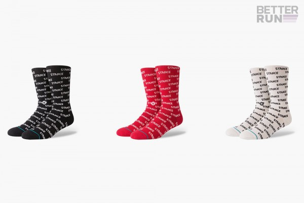 Stance Socks - Foundation Repeat - Black - Red - White