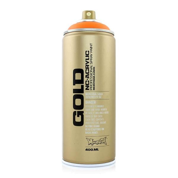 Montana Cans Gold Fluorescent 400ml - 7 Farben