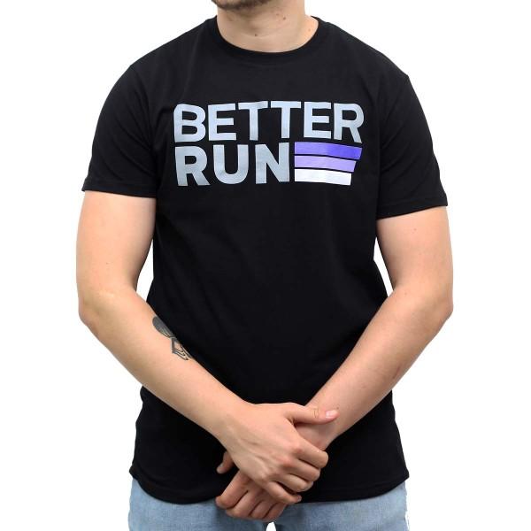 Betterrun Logo T-Shirt Men - Black