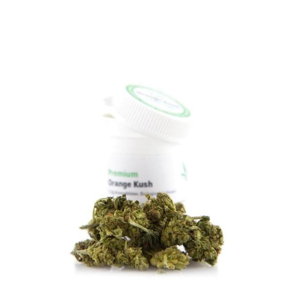 Premium CBD Aromablüten Orange Kush - 2,2 Gramm