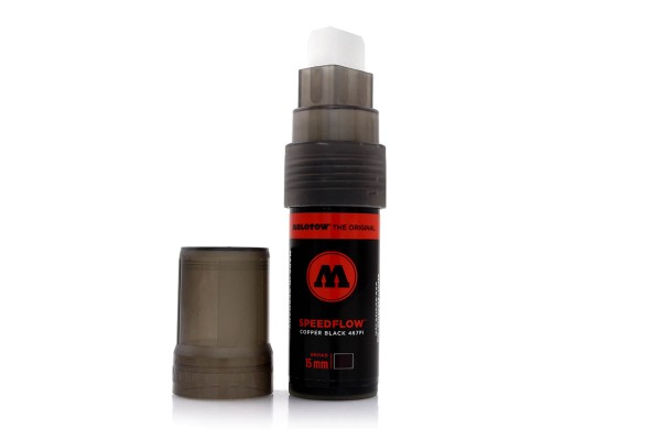 MOLOTOW Marker - 467PI Speedflow Marker Mini 15mm - Black