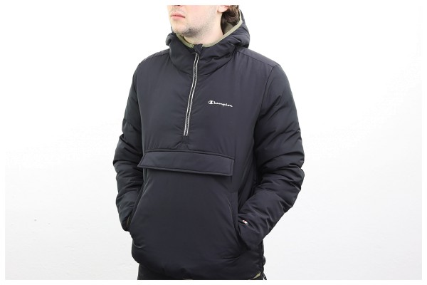 Champion Outdoor Half Zip Kapuzenjacke - Hooded Jacket - Black