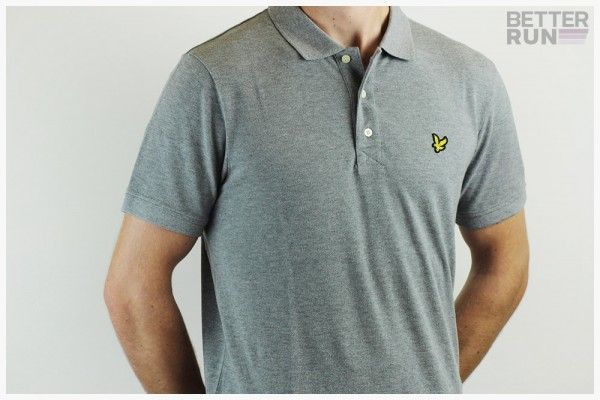 Lyle & Scott - Polo Shirt - Mid Grey Marl und Black