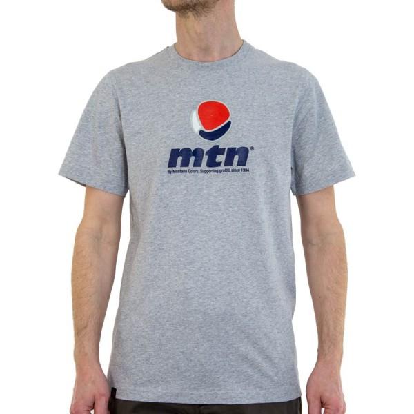 MTN Colors Logo Shirt - Grau