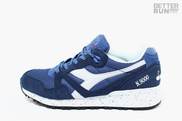 Diadora Sneaker - N9000 Speckled - True Navy - Insignia Blue