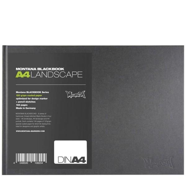 Montana Blackbook - A4 Querformat