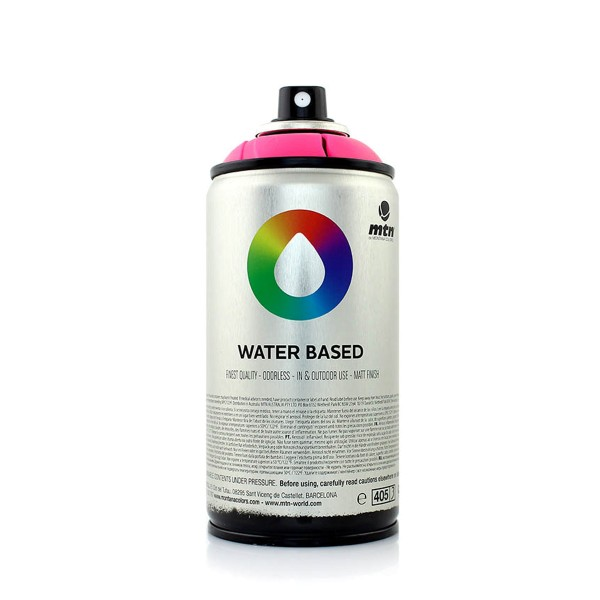 MTN Cans Water Based Fluorescent 300ml - 5 Farben