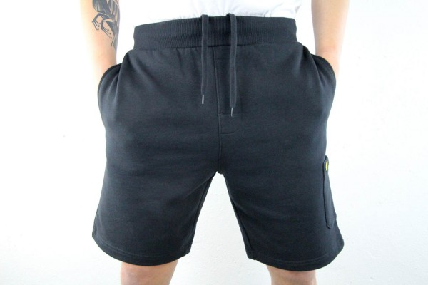 Lyle & Scott Hose - Pocket Sweat Short - True Black
