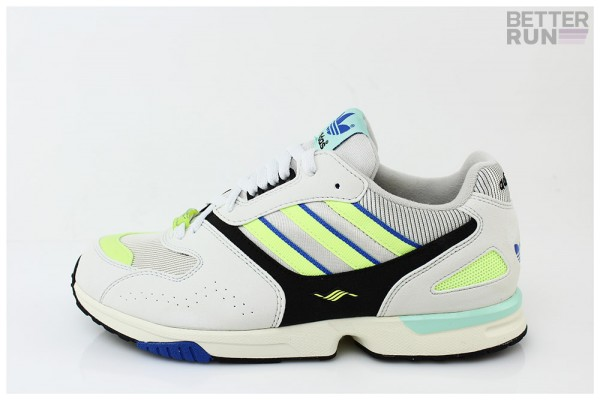 Adidas Sneaker ZX 4000 - Crystal White Core Black Semi Solar Yellow