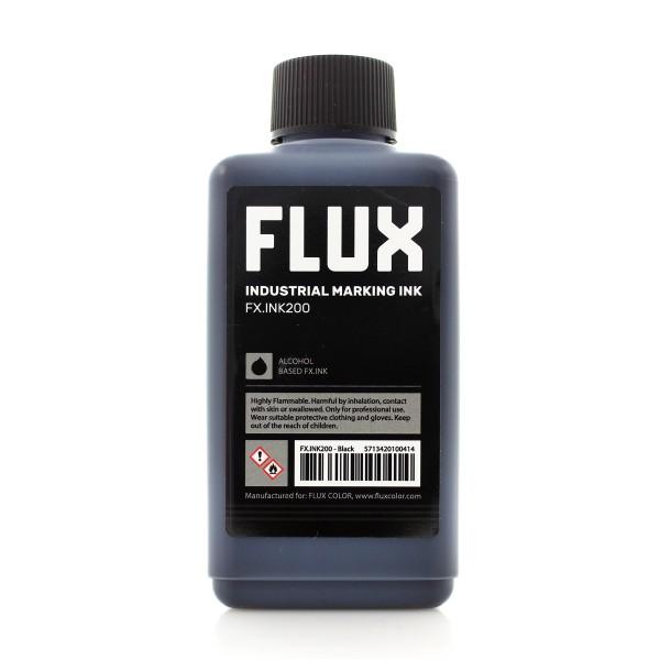 Flux Refill Industrial Marking Ink FX.INK200 - 200ml Black