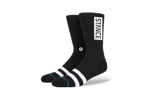 Stance Socken - Staples Icon - Black White