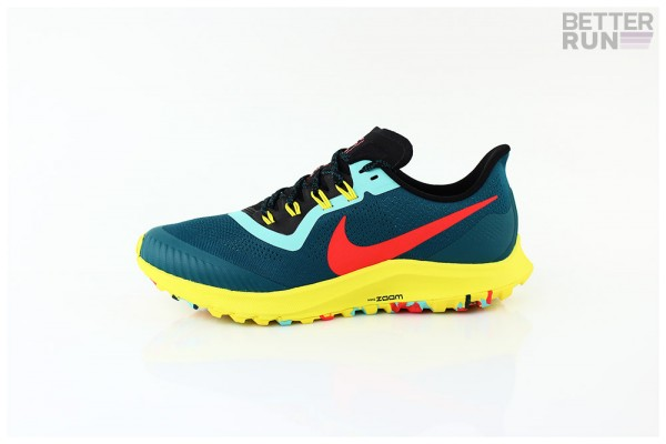 Nike Sneaker - Air Zoom Pegasus 36 Trail - Geode Teal Bright Crimson