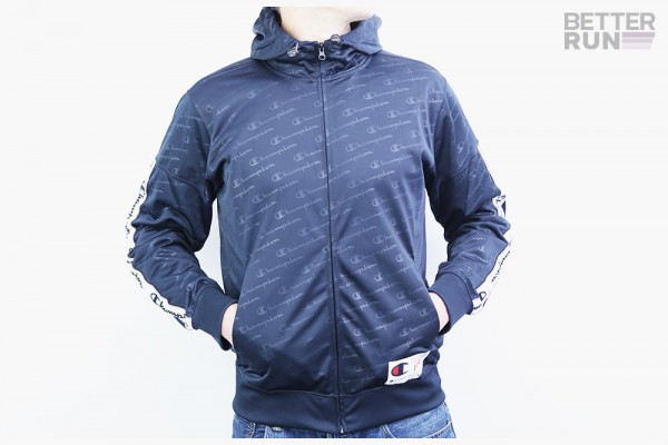 Champion Jacke - Hooded Full Zip Suit - Navy