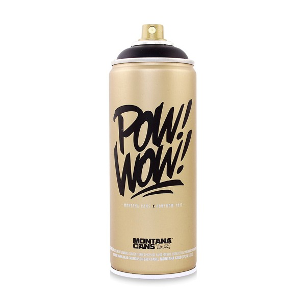Montana Cans Gold 400ml - POW! WOW! - Special Edition
