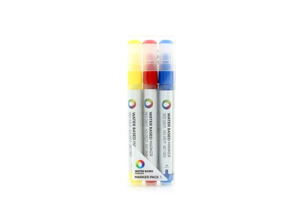 MTN Water Based Marker 3er Set YRB - 3mm