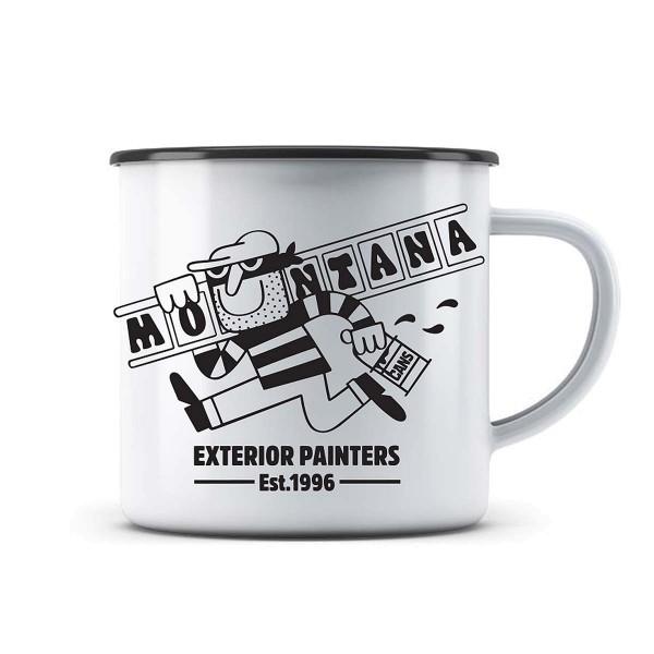 Montana Enamel Mug Emaille Trinkbecher - Exterior Painters
