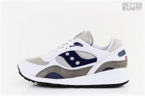 Saucony Sneaker - Shadow 6000 - White Grey Blue