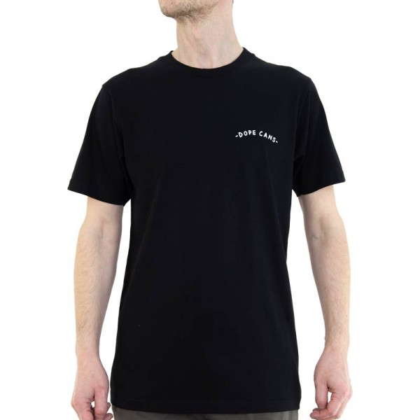 Dope Shirt Logo Dope Cans Supreme - Schwarz