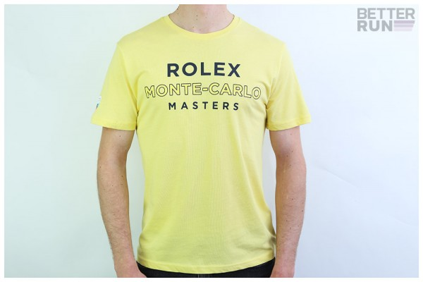 Sergio Tacchini x Rolex T-Shirt - Cable Monte Carlo Shirt - Light Yellow Navy