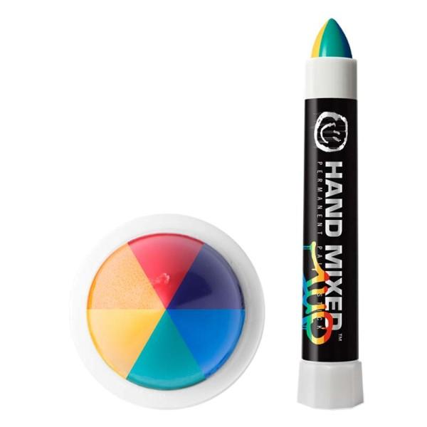 Hand Mixed Marker 1UP - Regenbogen