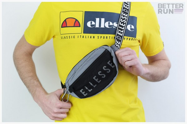Ellesse Heritage Tasche - Stam Cross Body Bag - 3M Grey Black