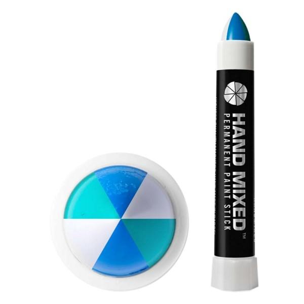 Hand Mixed Marker PIRINEUS - Grün Weiss Blau