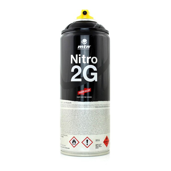 MTN Cans Nitro 2G 400ml - Schwarz