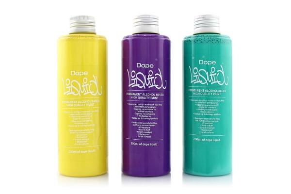 Dope Refill Liquid Paint 200ml - 14 Farben