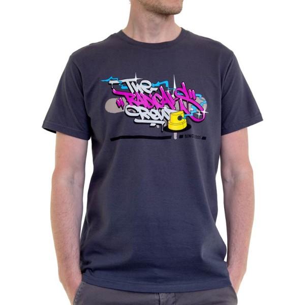 Radicals Shirt Handstyle Logo - Dark Grey