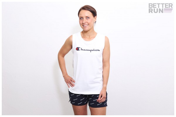 Champion Shirt - Tank Top - White