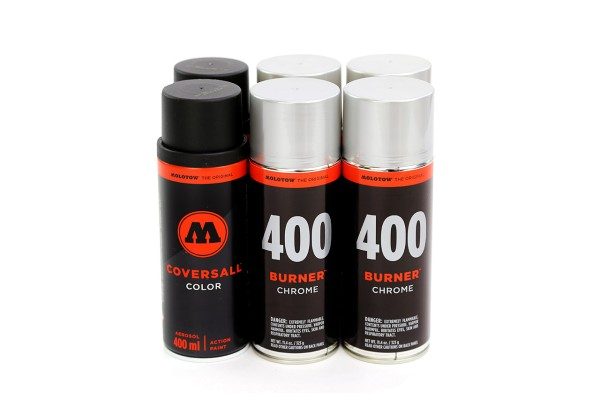 MOLOTOW CoversAll Burner 400ml - 6er Sparpack