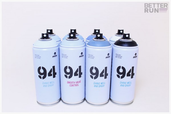 MTN Cans 94 400ml - 8er Sparpack Dusty Blue