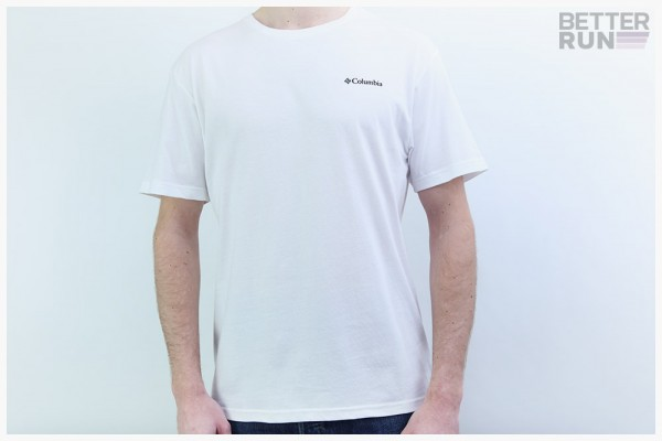 Columbia T-Shirt - North Cascades Short Sleeve Tee - White