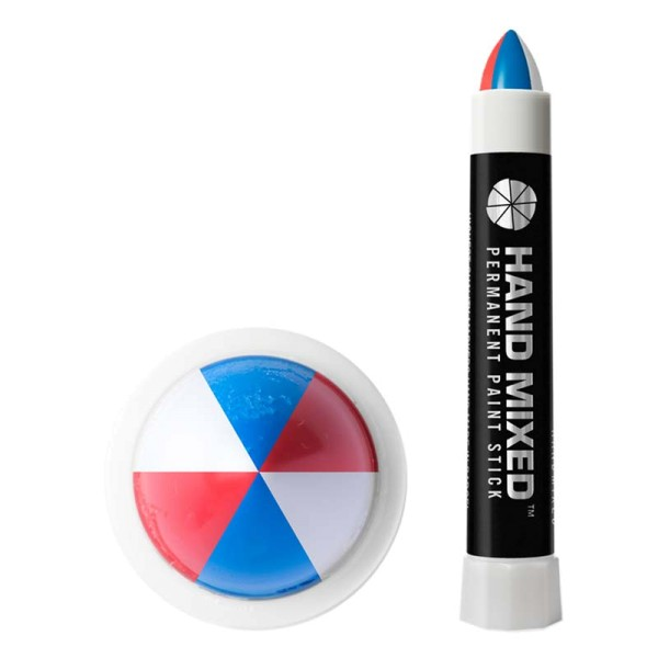Hand Mixed Marker CHILEAN Pro - Blau Weiss Rot