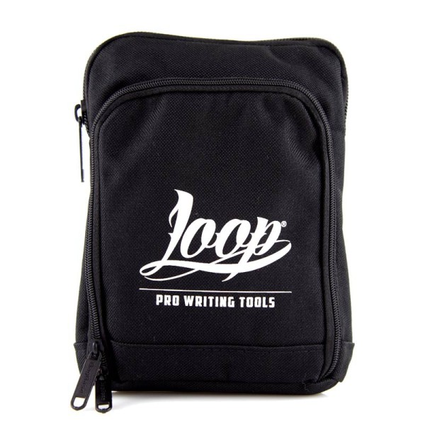 Loopcolors Pusherbag Logo Loop - Schwarz-Weiß