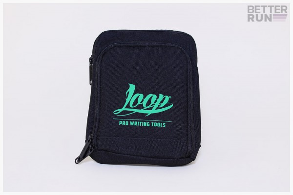 Loopcolors Pusherbag Logo Loop - Schwarz-Grün
