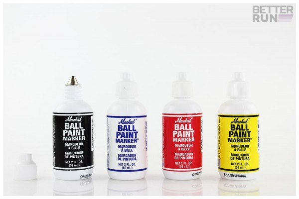Markal Ball Paint Marker Steelball - 4 Farben