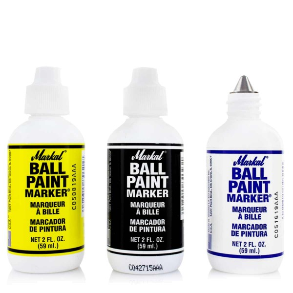 Markal Ball Paint Marker Steelball - 4 Farben