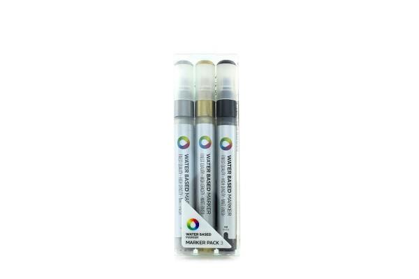 MTN Water Based Marker 3er Set SGB - 3mm