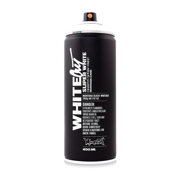 Montana Cans Whiteout 400ml - Weiß