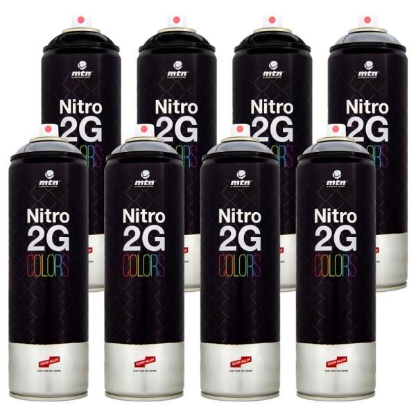 MTN Nitro 2G 500ml - Bombing Paket Chrome-Schwarz