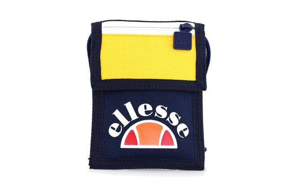 Ellesse Heritage Tasche - Fontana Pouch Bag - Navy Yellow