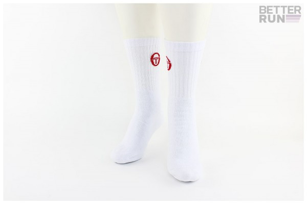 Sergio Tacchini Socken - Training Socks - White Red