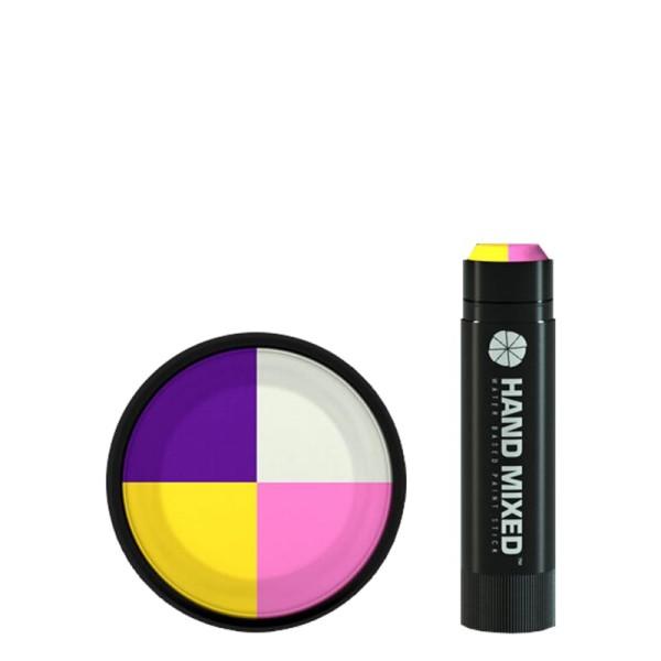 Hand Mixed Marker ICE CREAM Lite - Gelb Lila Weiss Pink