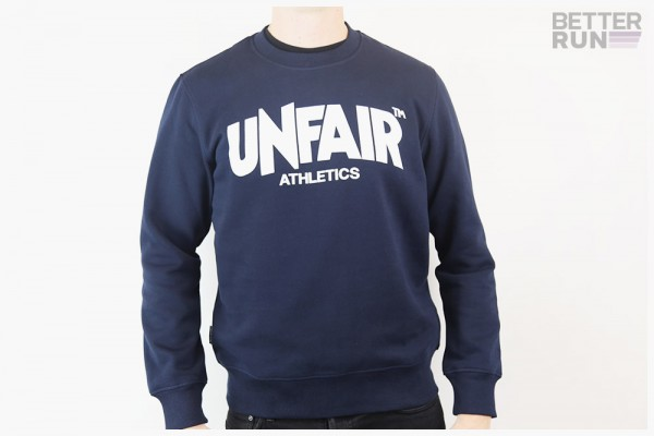 Unfair Athletics - Classic Label Crewneck Sweatshirt - Dark Navy